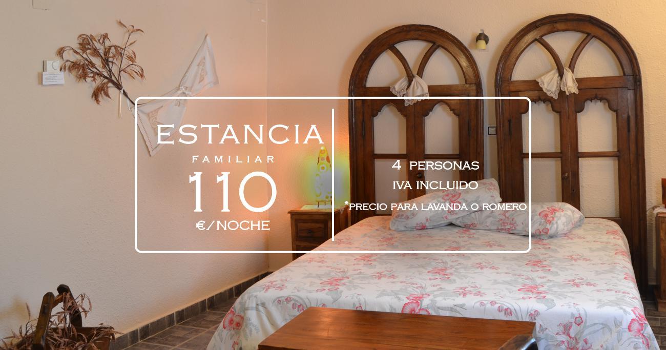 Habitación familiar en casa rural La Aldea Encantada